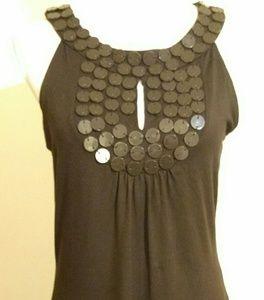 BCBGMaxAzaria women's sleeveless top